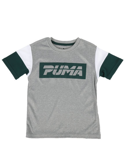 Puma - Pieced Performance Tee (4-7)