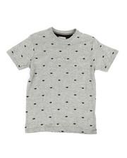 Tops - Printed Crew Neck Jersey Tee (8-20)-2318428