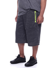 Akademiks - Podium 99 Tech Fleece Short (B&T)-2319472