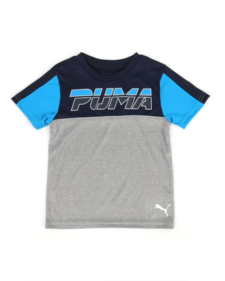Puma - Color Blocked Performance Tee (4-7)
