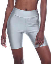 Bottoms - Solid Nylon Bike Short-2319974
