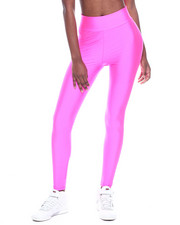 Bottoms - High Waist Shinny Nylon Legging-2319949