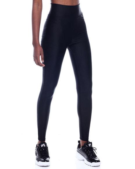 Fashion Lab - High Waist Shinny Nylon Legging