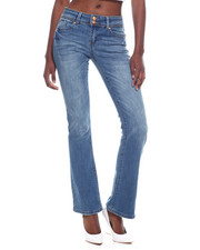 Bottoms - 2 Button Wide Leg Jean-2320026
