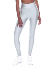 Bottoms - High Waist Shinny Nylon Legging-2319945