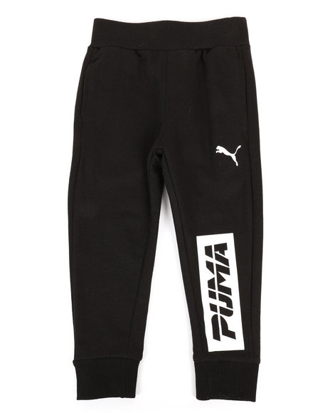 Puma - French Terry Puma Jogger Pants (4-7)