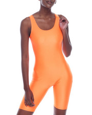 Athleisure for Women - S/L Bermuda Bodysuit-2320135