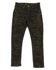 Jeans - Moto Side Split Knee Camo Jeans (8-20)-2318757