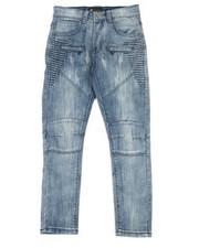 Jeans - Moto Side Split Knee Jeans (8-20)-2318733