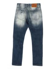 Jeans - Basic Denim Jeans w/ Rip & Repair Detail (8-20)-2318693