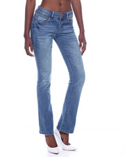Bottoms - 2 Button Wide Leg Jean-2318590