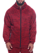 Akademiks - Adrenaline 99 Tech Fleece Full Zip Hoodie (B&T)-2320832