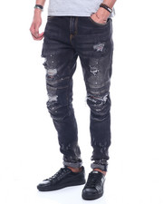 Crysp - Duncan Distressed Indigo Jean-2320790