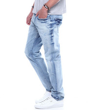 Jordan Craig - Ice Wash Distressed Jean-2320262
