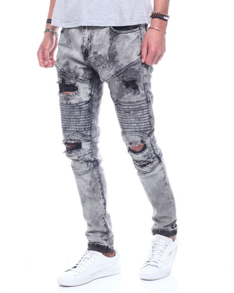 Crysp - Giotto Washed Out Distressed Jean