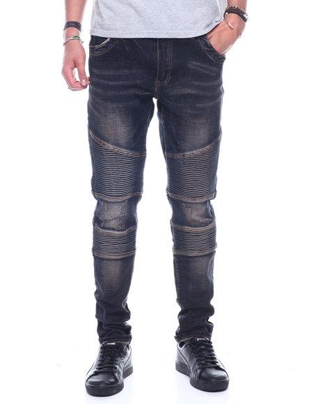 Crysp - Bron Indigo Moto Jean