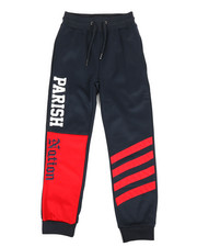 Boys - Color Block Track Pants (8-20)-2318640