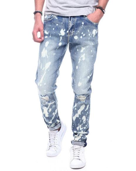 Crysp - Atlantic Bleach Splatter Jean