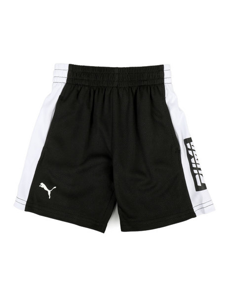 Puma - Poly Mesh Performance Shorts (2T-4T)