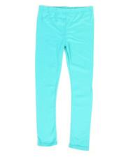 Girls - Solid Capri Leggings (7-16)-2317621