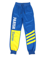 Boys - Color Block Track Pants (8-20)-2318645