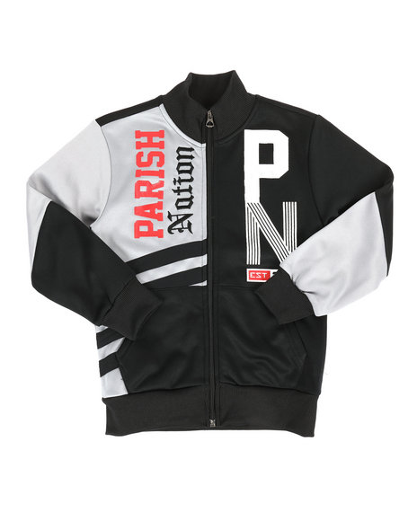Parish - Color Block Track Jacket (4-7)