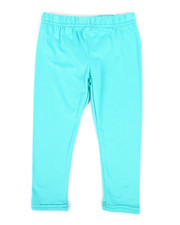 Bottoms - Solid Capri Leggings (2T-4T)-2317617