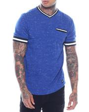 T-Shirts - TERRY VNECK SHIRT-2321537