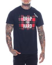 T-Shirts - drip too hard plaid tee-2321522