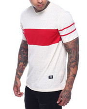 T-Shirts - Mesh Chest Tee-Red-2321618