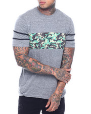 Buyers Picks - Mesh Chest Tee-Camo-2321484