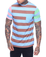 Buyers Picks - COLORBLOCK BOLD STRIPE POCKET TEE-2321353