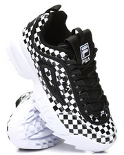 Athleisure for Women - Disruptor II Checker Sneakers-2321175