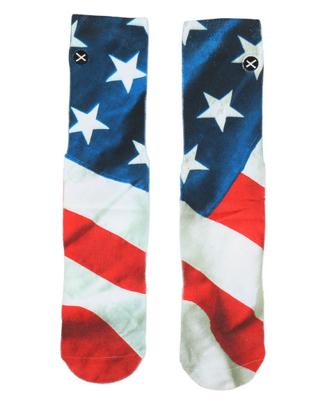 DRJ SOCK SHOP - American Flag Socks (10C-5Y)