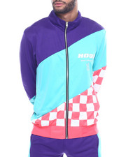 Buyers Picks - CHECKERBOARD TRACK JACKET-2320919