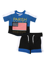 Boys - Americana Sport 2 Piece Short Set (Infant)-2317756