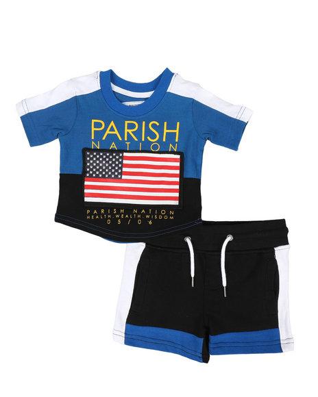 Parish - Americana Sport 2 Piece Short Set (Infant)