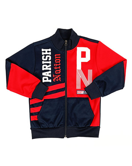 Parish - Color Block Track Jacket (4-7)