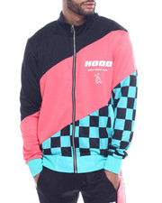 Buyers Picks - CHECKERBOARD TRACK JACKET-2320928
