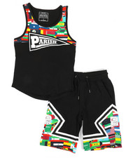 Boys - Worldwide Flags 2 Piece Set (8-20)-2318603