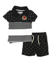 Boys - Monogram 2 Piece Short Set (Infant))-2318438
