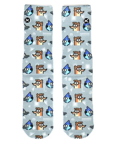 DRJ SOCK SHOP - Mordecai & Rigby Socks (10C-5Y)