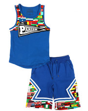 Boys - Worldwide Flags 2 Piece Set (8-20)-2318612