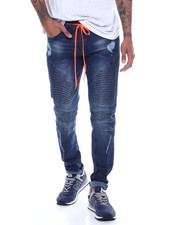 Buyers Picks - MOTO JEAN WITH DRAWSTRING DETAIL-2321660