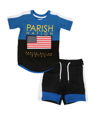 Sets - Americana Sport 2 Piece Short Set (2T-4T)-2317760