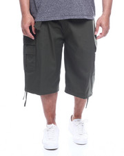 Men - Twill Belted Cargo Shorts (B&T)-2321921