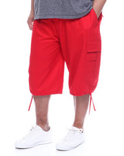 Men - Twill Belted Cargo Shorts (B&T)-2321914