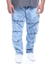 Jeans - Moto w/ Knee Treatment (B&T)-2320274