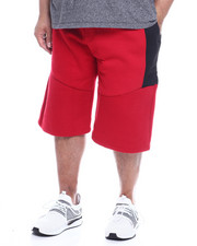 Phat Farm - Fleece Moto Jogger Shorts Wax Zipper (B&T)-2321858