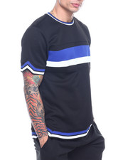 T-Shirts - INTERLOCK STRIPE SHIRT-2322027
